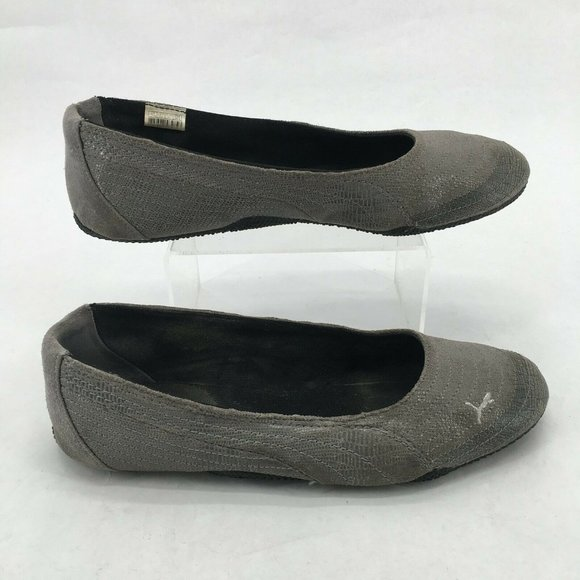 Puma Ballet Flats Sneakers Slip On Casual Shoes Ro